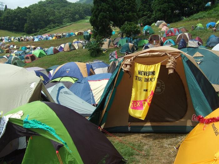 テント セックス
